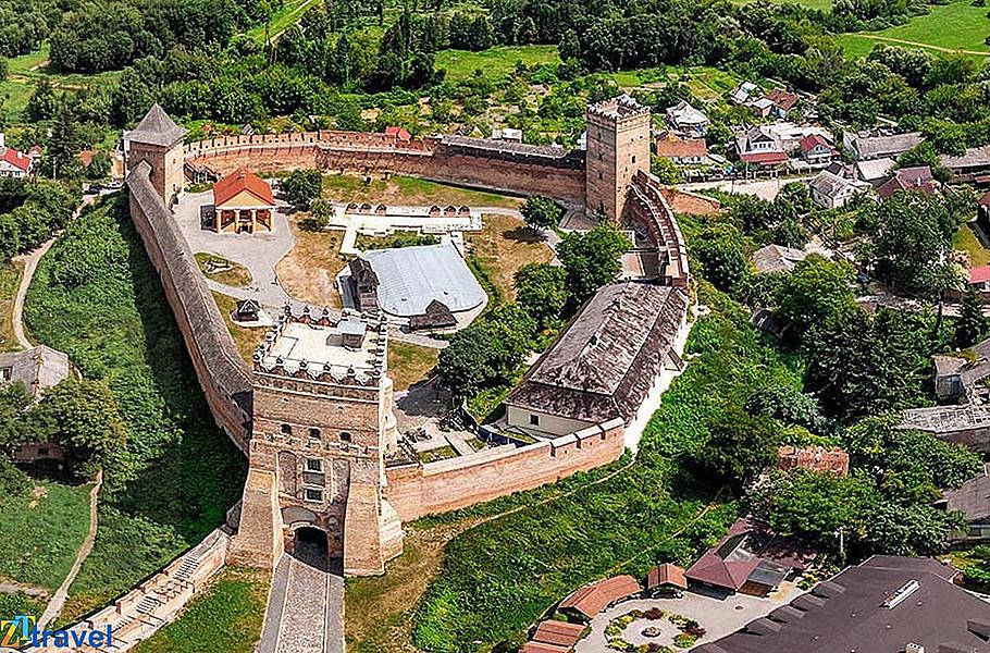 Луцький замок Любарта.